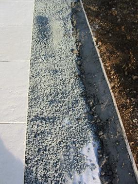 Terrasse piscine pose - Pose bordure beton jardin ...